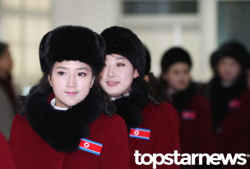 북한응원단 / 뉴시스 사진 제공