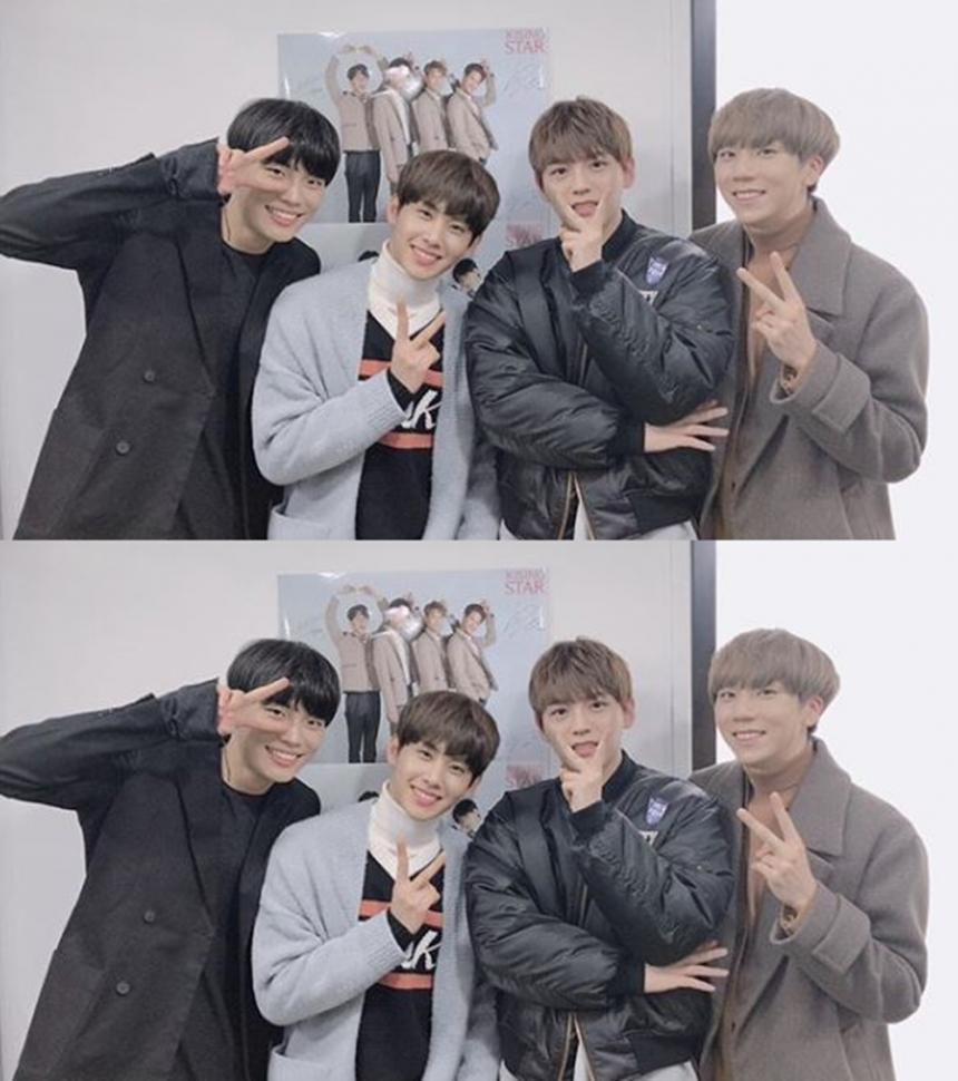 핫샷 '공식 인스타그램' 사진캡처