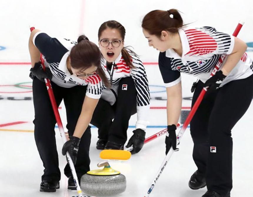 여자 컬링/ 대한민국 문화체육관광부