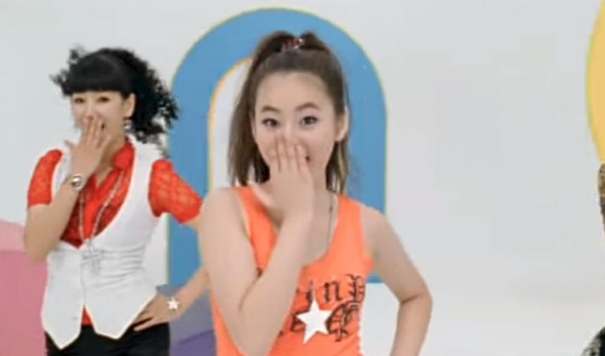 원더걸스 '텔미' MV 영상 캡처