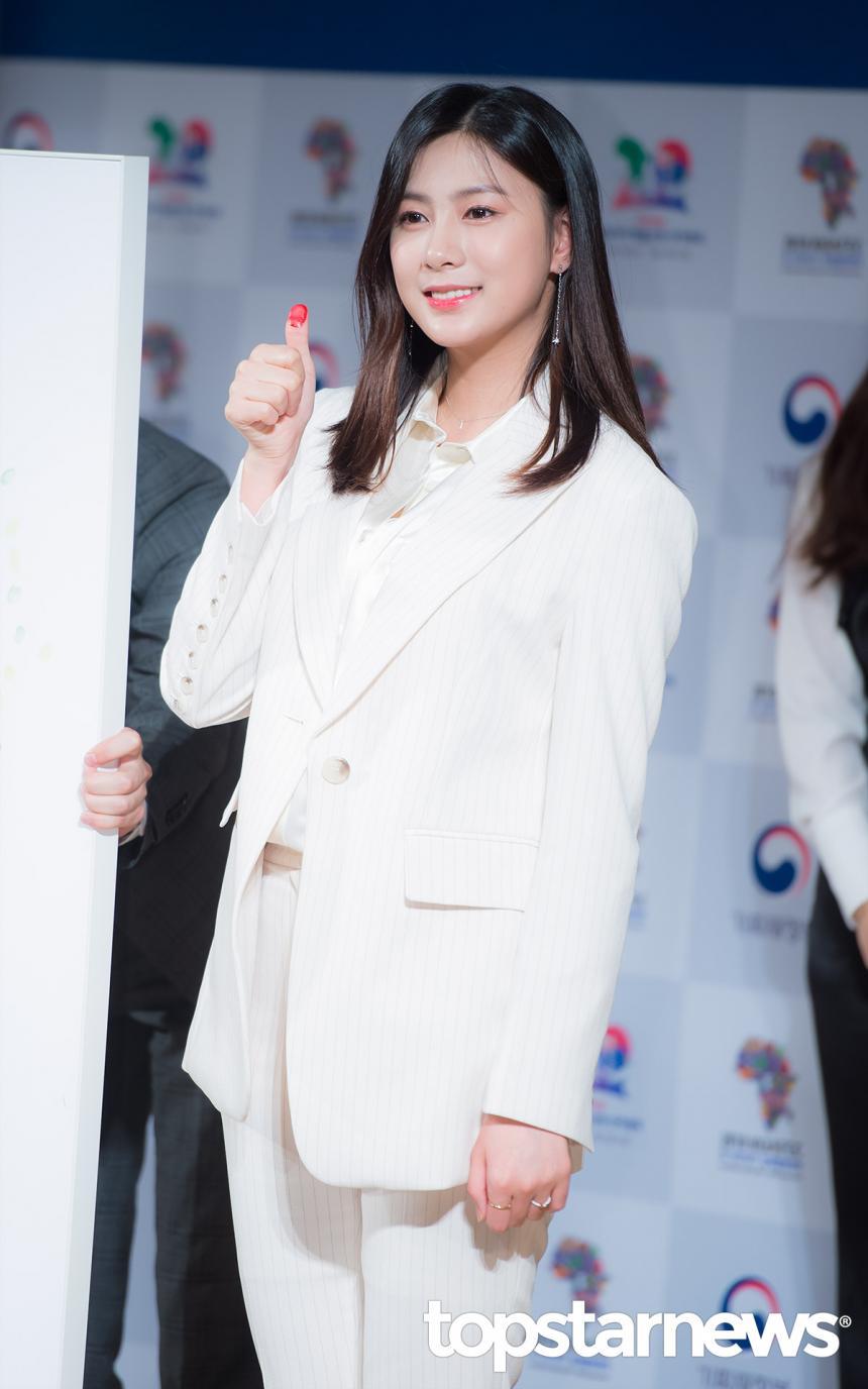 에이핑크(Apink) 오하영 / 서울, 최시율 기자