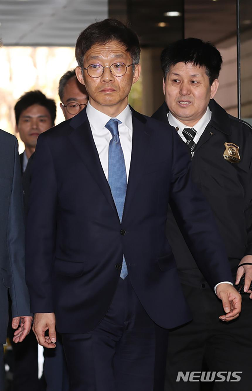 안태근 전 검사장 2018.04.18. / 뉴시스