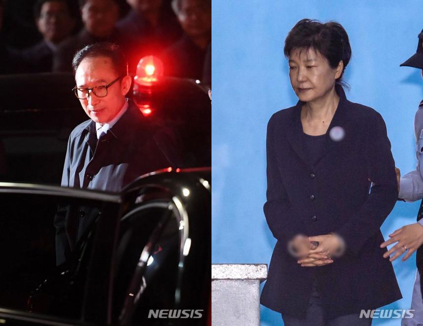이명박·박근혜 / 뉴시스
