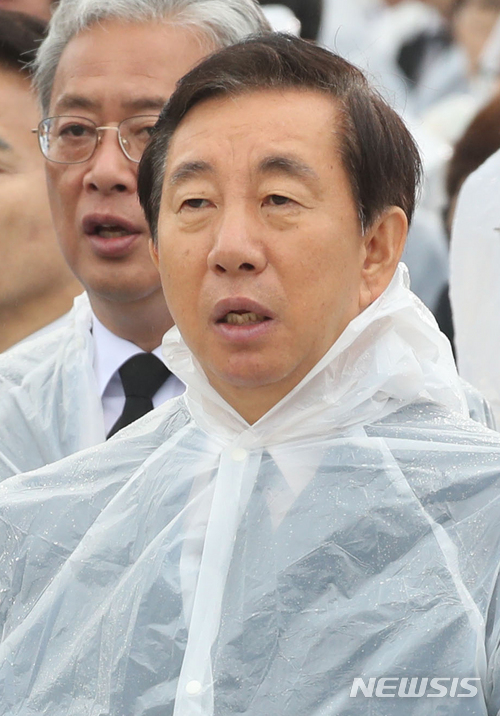 김성태 자유한국당 원내대표 / 뉴시스