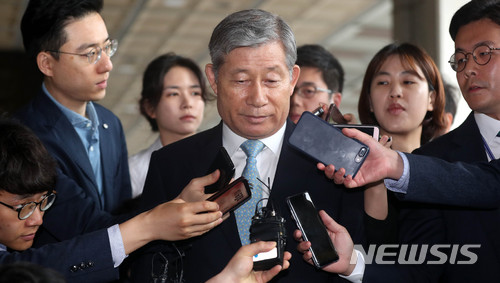 '이명박정부' 배득식 전 사령관, '기무사 댓글 공작' 혐의로 내일 구속심사 / 뉴시스