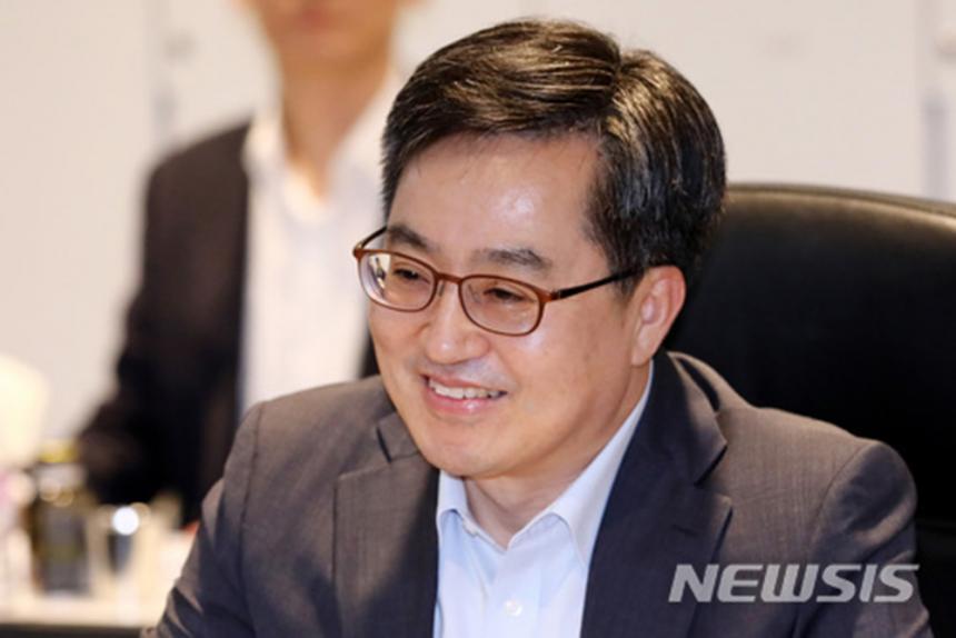 김동연 경제부총리 겸 기획재정부 장관 / 뉴시스