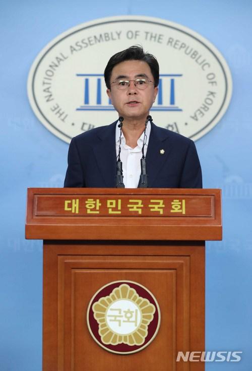 김태흠 자유한국당 최고위원 / 뉴시스