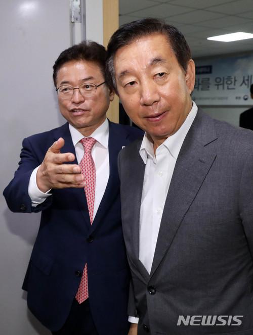 자유한국당 김성태 대표 권한대행 겸 원내대표 / 뉴시스