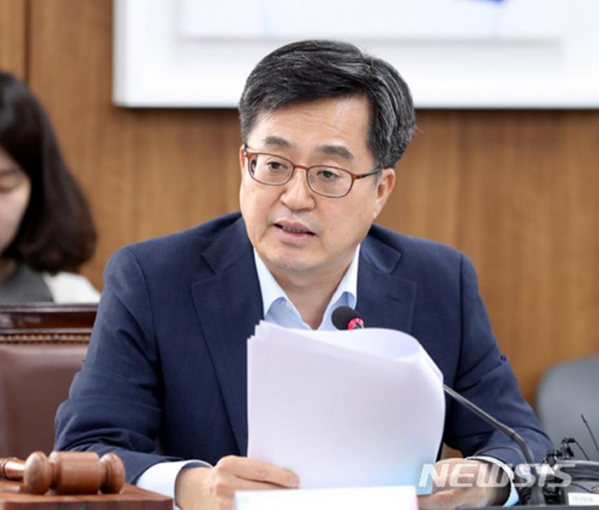 기획재정부 장관 김동연 / 뉴시스