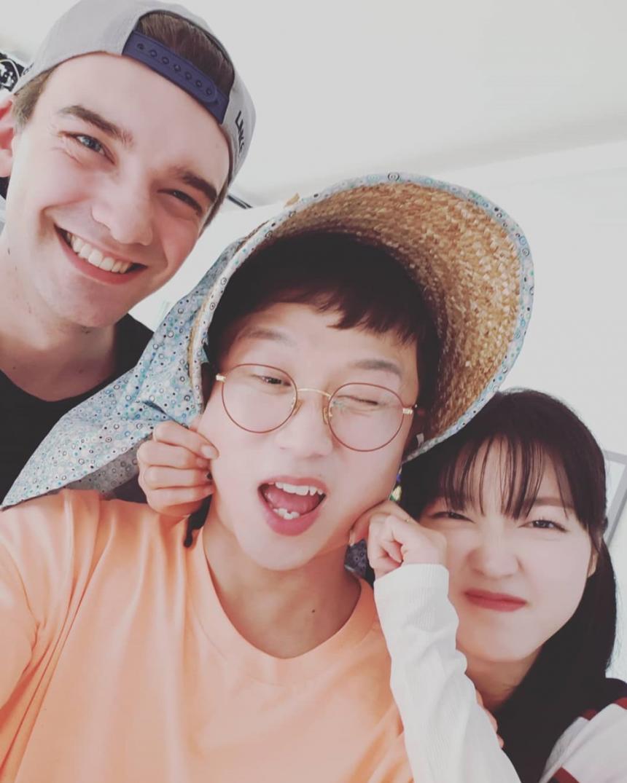니클라스 클라분데-박성광-오마이걸 유아 / 박성광 SNS