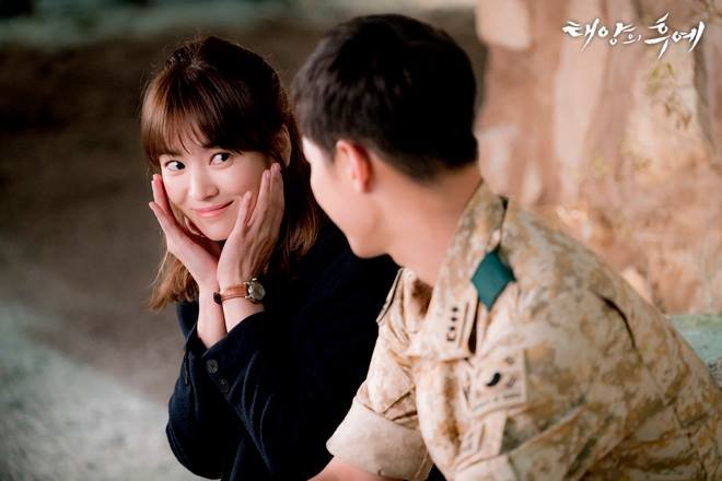 KBS2 '태양의 후예' 스틸컷