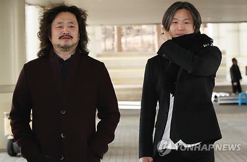 김어준(좌)씨와 주진우(우) 기자[연합뉴스]
