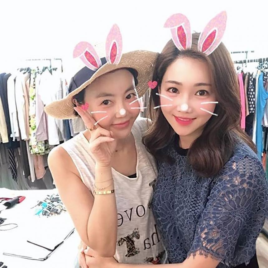 황혜영 이유리 / 황혜영 인스타그램