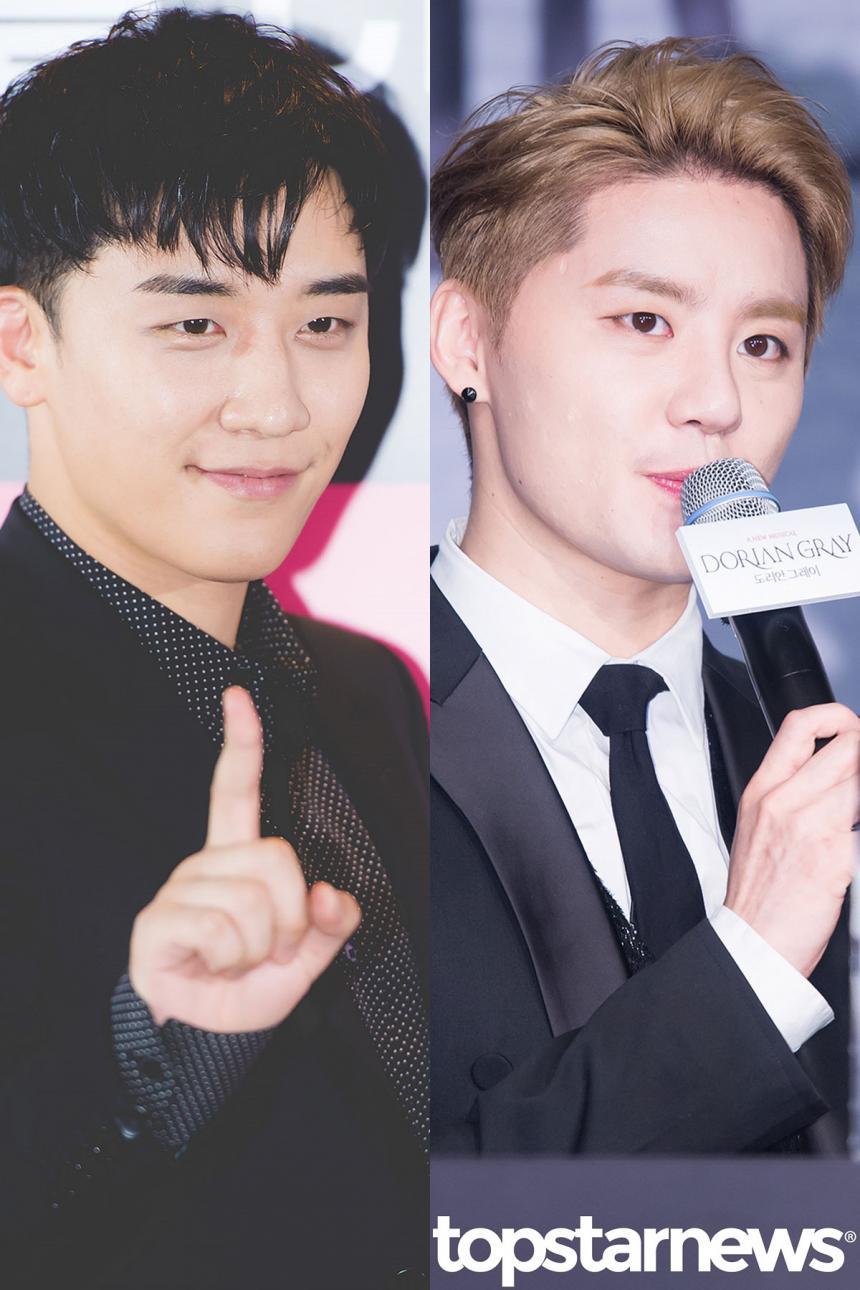 빅뱅(BIGBANG) 승리-김준수(XIA) / 톱스타뉴스 HD포토뱅크