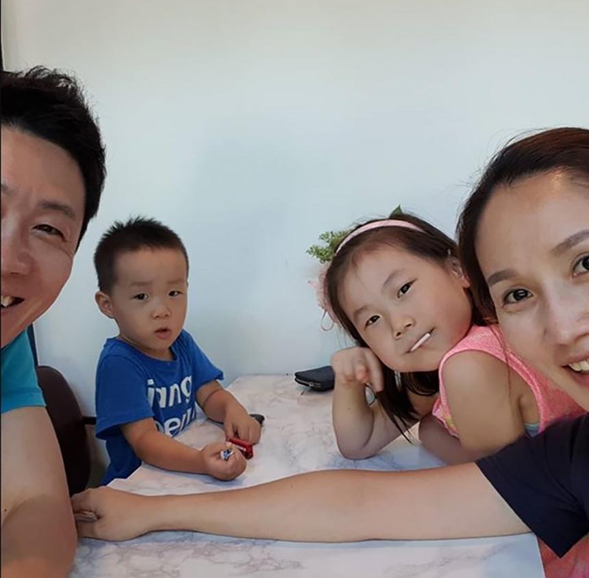 진선규 아내-딸-아들 / 진선규 인스타그램