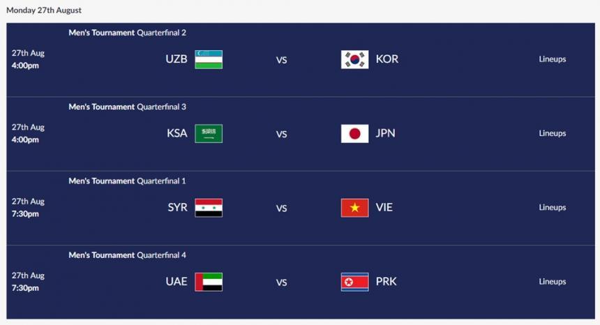 2018 자카르타-팔렘방 아시안게임 공식 홈페이지