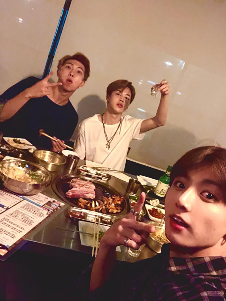 방탄소년단(BTS) 공식 SNS