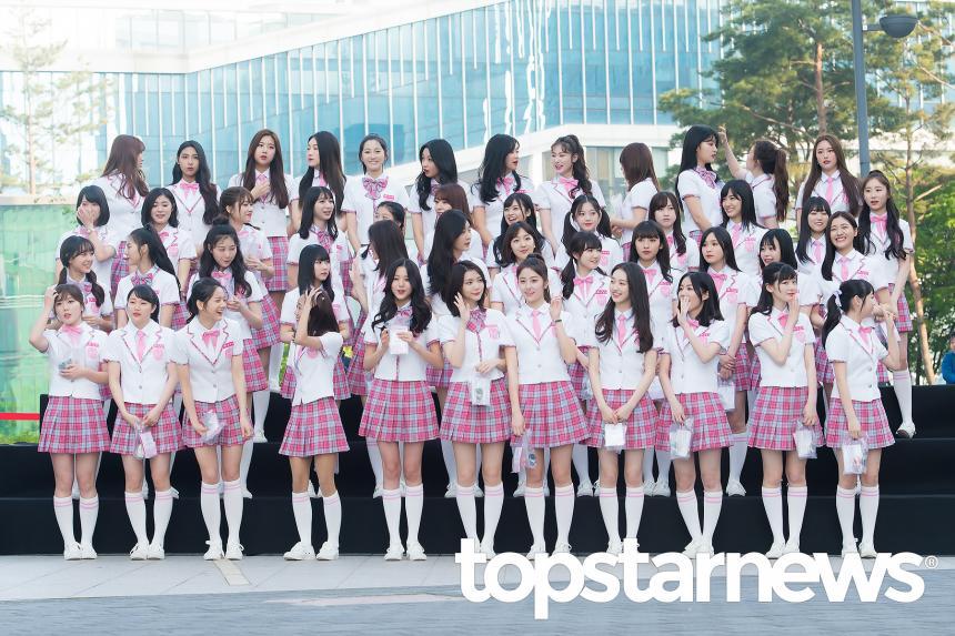 '프로듀스48' 연습생 / 톱스타뉴스 HD포토뱅크