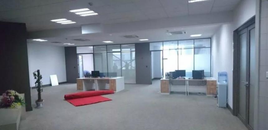 텅빈 판빙빙의 우시 사무실 모습 / 온라인 커뮤니티