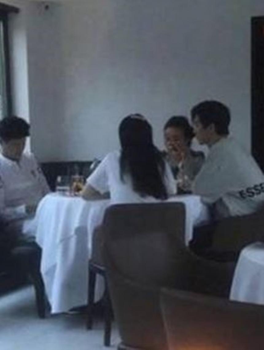 판빙빙과 그의 가족들이 면회중이라고 주장한 사진 / 온라인 커뮤니티