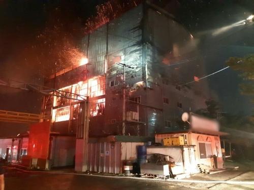 화재 현장 / 경기도재난안전본부 제공