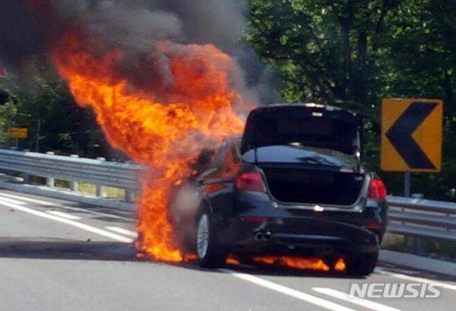 BMW 화재부터 리콜 제도 개선 발표까지 사건일지 / 뉴시스