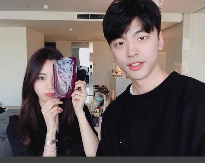 송다은, 김도균/ 송다은sns