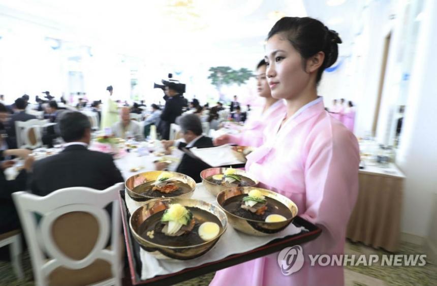 옥류관 / 연합뉴스