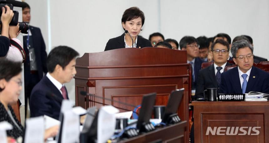 김현미 국토교통부 장관 / 뉴시스 제공