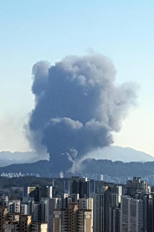 대전화재 / 연합뉴스