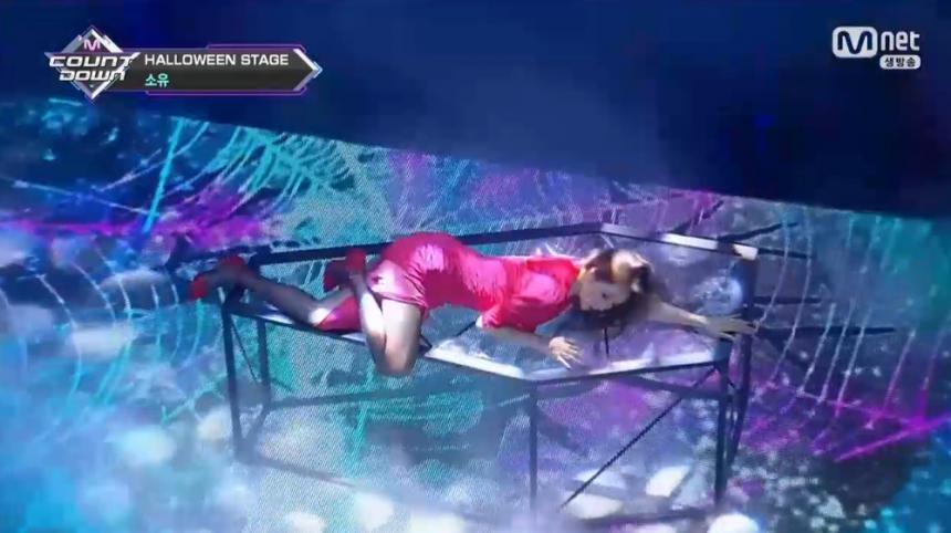 Mnet '엠카운트다운' 방송 캡처