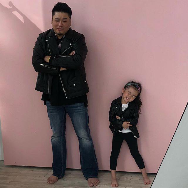 레이먼킴-딸 루아 / 김지우 인스타그램