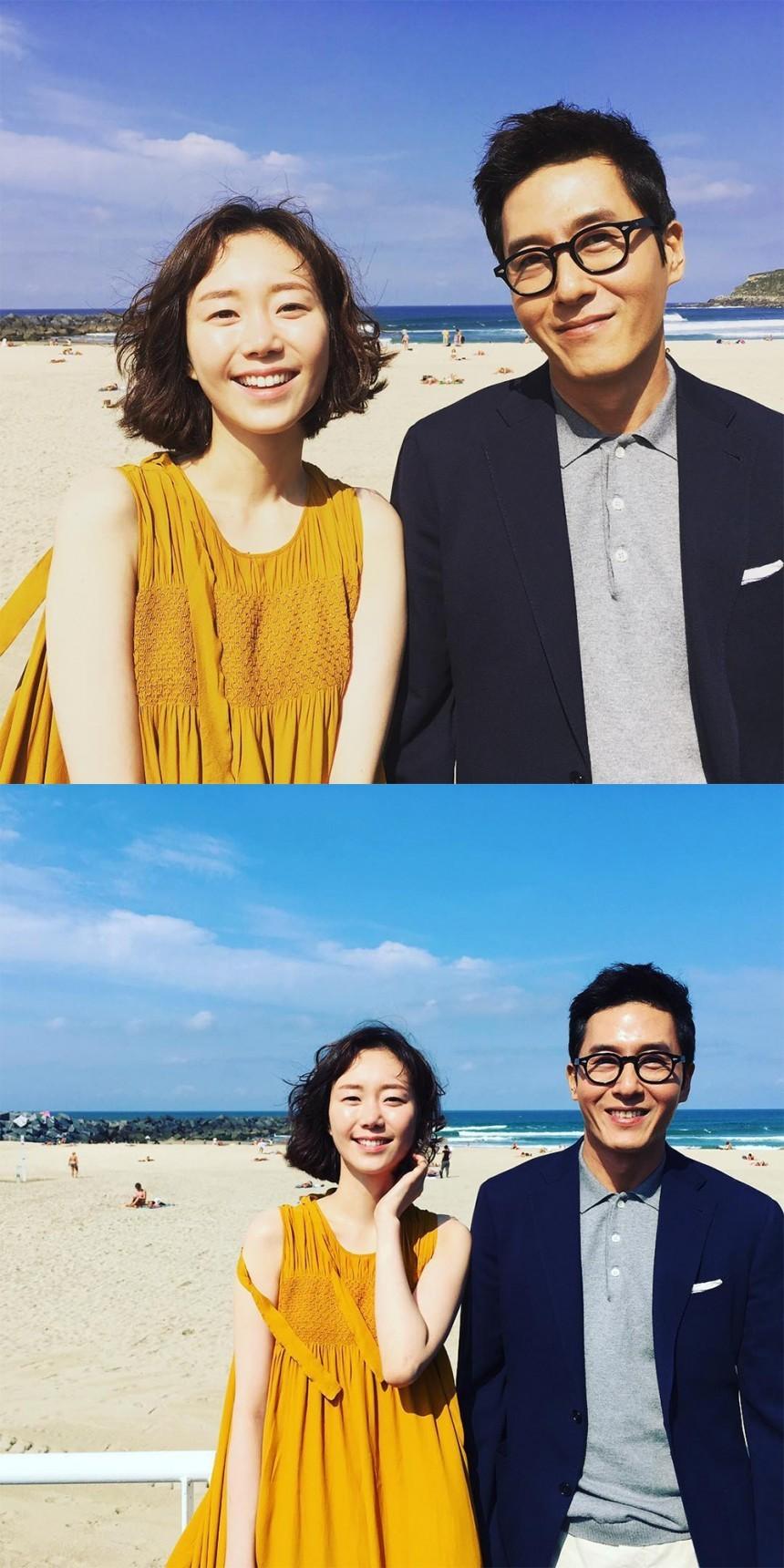 이유영-김주혁 / 이유영 SNS