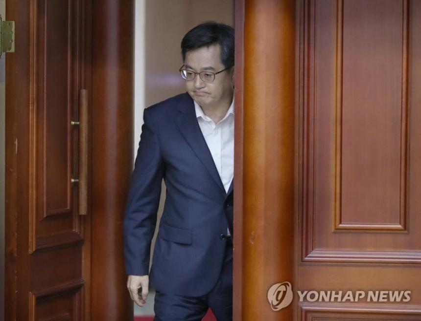 김동연 경제부총리 겸 기획재정부 장관 / 연합뉴스
