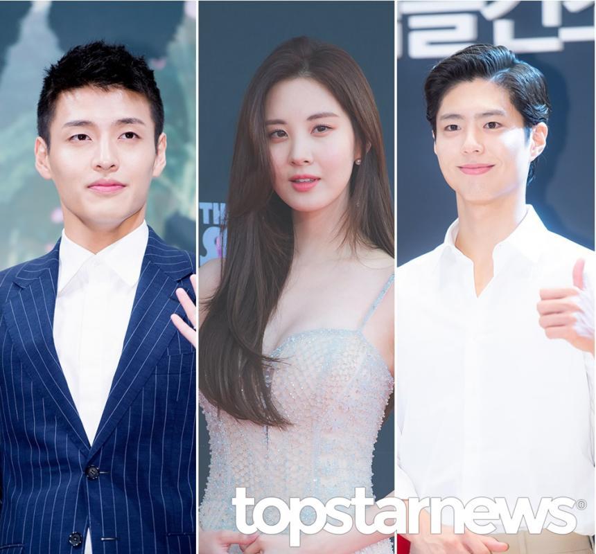 강하늘-서현-박보검 / 톱스타뉴스 HD포토뱅크