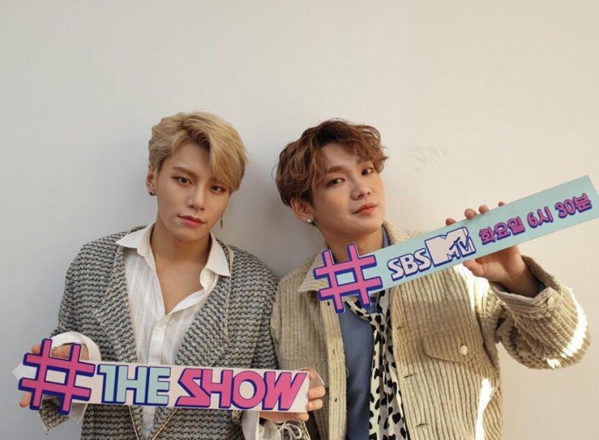 SBS MTV '더쇼' 공식 트위터