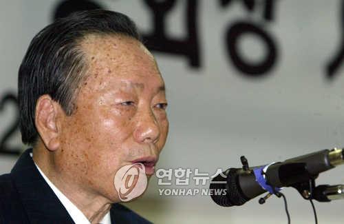 정태수 전 회장 / 연합뉴스
