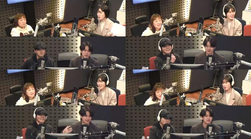 이수지, 노을 강균성-전우성 / KBS Cool FM '이수지의 가요광장' 보이는 라디오 캡처