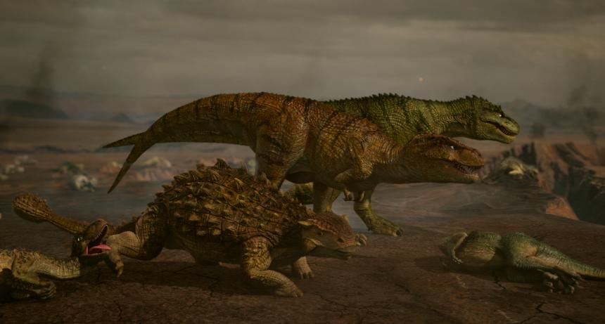 '점박이 한반도의 공룡2: 새로운 낙원' 스틸컷 / NEW