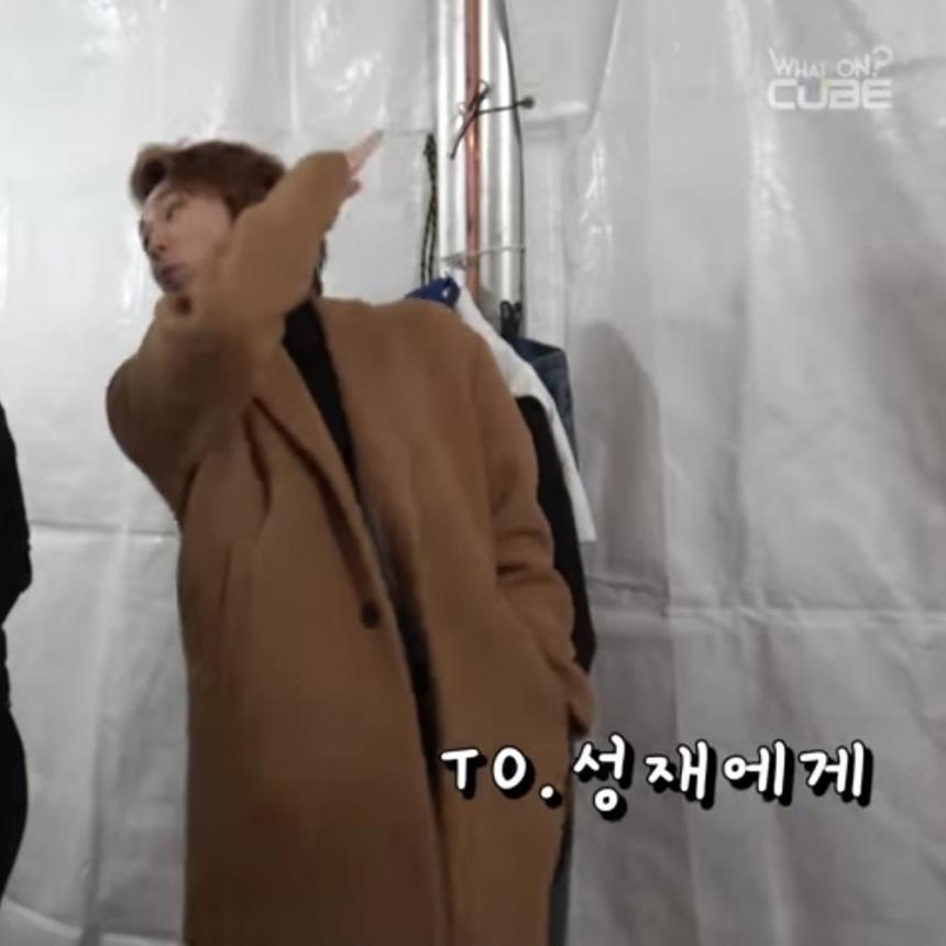 비투비(B TO B) 정일훈 인스타그램