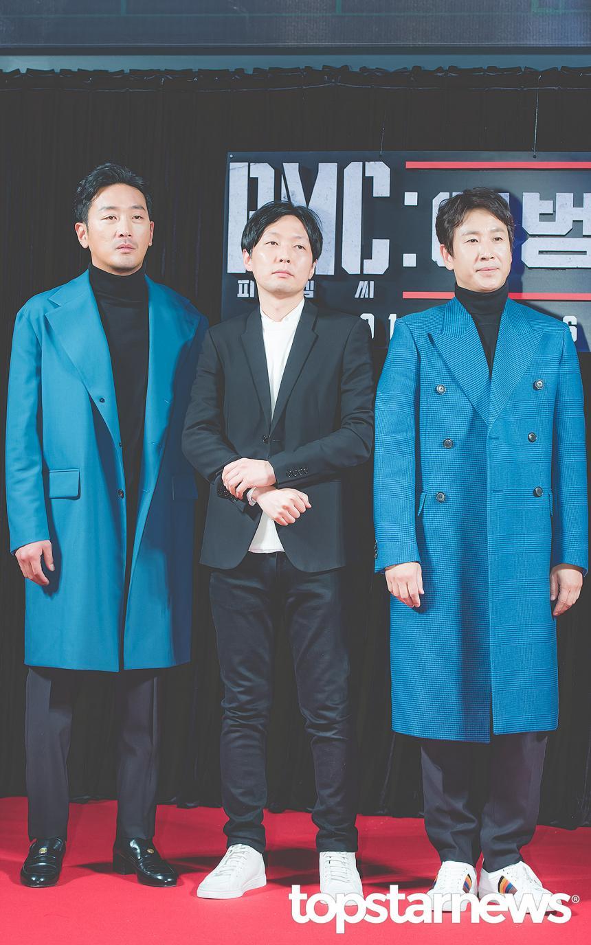하정우-김병우 감독-이선균 / 톱스타뉴스 HD포토뱅크