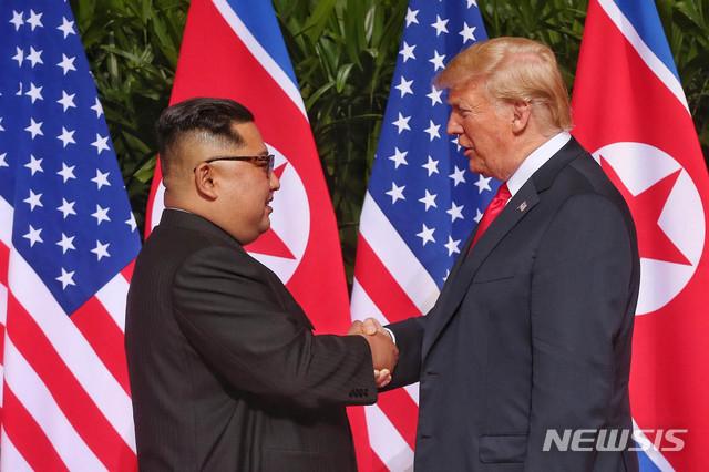 김정은 국무 위원장-트럼프 대통령 / 뉴시스