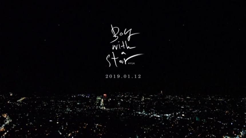 빅스(VIXX) 혁 'Boy with a star(보이 위드 어 스타)' / 젤리피쉬엔터테인먼트