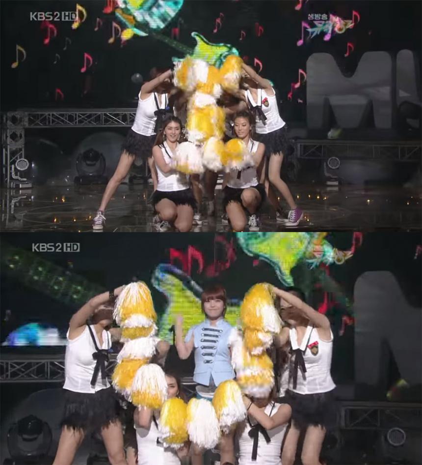 kbs2 '뮤직뱅크' 영상 캡처