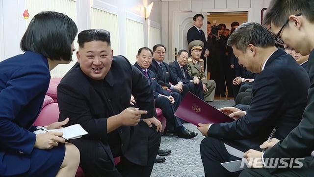 김정은 북한 국무위원장 / 뉴시스