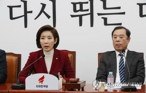 나경원 원내대표 / 연합뉴스