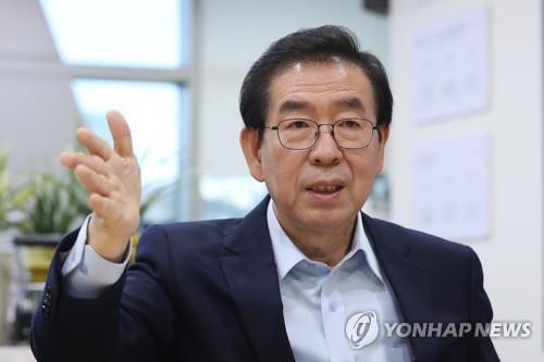 박원순 시장 / 연합뉴스