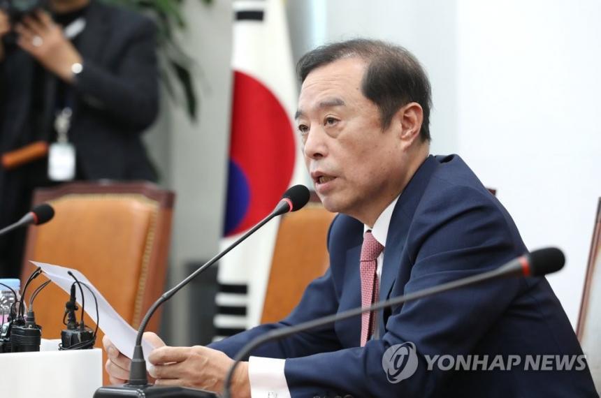 자유한국당 김병준 비상대책위원장 / 연합뉴스