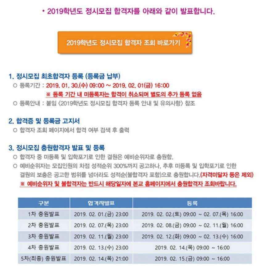 인천대학교 홈페이지