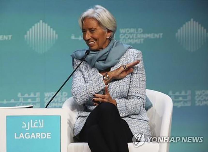 크리스틴 라가르드 국제통화기금(IMF) 총재 / 연합뉴스